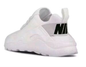 e2ce61d107140 Womens boys girls NIKE HUARACHE RUN ULTRA All White Trainers 819151 ...