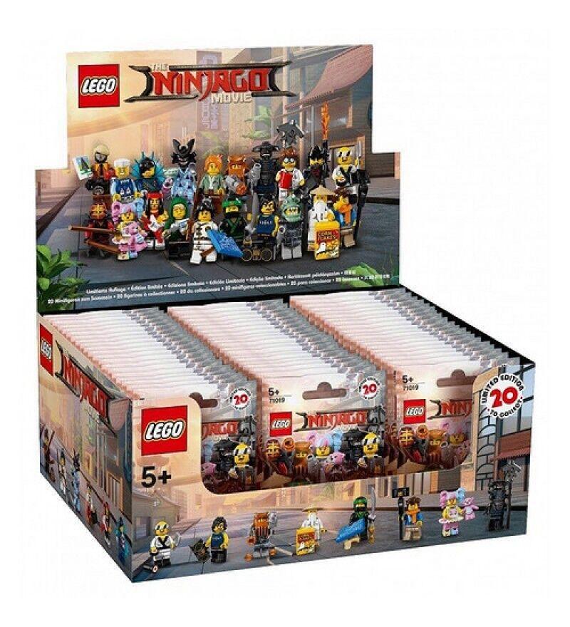 Lego 71019 Ninjago Movie Series Sealed box Case Case Case of 60 Minifigures NEW Unopened f3c311
