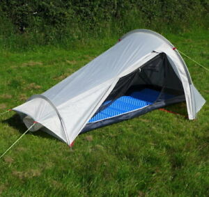 Ultralight Backpacking Tent Just 1 3kg Station13 Whisper 1 Person Tent New Ebay