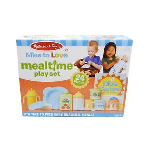 Melissa & Doug mine à aimer les repas Play Set for baby doll #31708