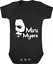 MINI MYERS New Bodysuit//Grow//Vest Baby Shower HALLOWEEN Michael Myers Gift