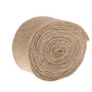 10M-Hessian-Burlap-Wire-Edge-Ribbon-for-Wedding-Christmas-Craft-Decor-6cm