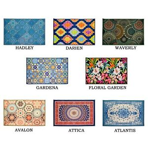 Kashi-Home-Printed-Decor-Area-Rug-Floor-Cover-Mat-Contemporary-Printed-Designs