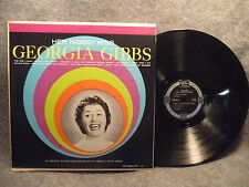 33 RPM LP Record Her Nibbs Miss Georgia Gibbs Golden Tone Records C4093-B VG+