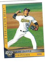 COMPLETE 2016 BURLINGTON BEES TEAM SET MINORS LOW A LOS ANGELES ANGELS