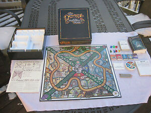 Quest-of-the-Philosopher-039-s-Stone-Fantasy-Board-Game-First-Edition-1986-Complete