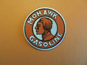 MOHAWK GASOLINE Gas Oil Motor Motorcycle Racer Biker Patch Iron on Embroidered