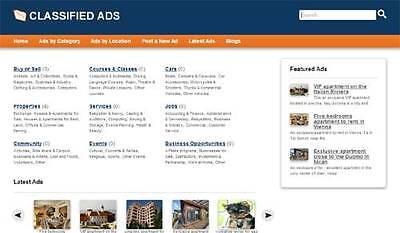 Best Classified Web Site Craigslist Clone Website one year free hosting |  eBay