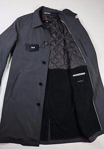 details about hugo boss trenchcoat the fellow mantel neu coat. Black Bedroom Furniture Sets. Home Design Ideas
