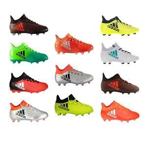 ADIDAS-Chaussures-de-football-Homme-Garcon-Enfants-Techfit-Soccer-Fg-x-16-x-17