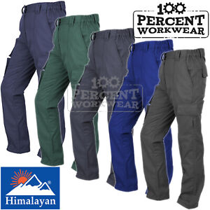 Ladies-Womens-High-Quality-Hard-Wearing-Combat-Work-Trousers-Pants-Knee-Pockets
