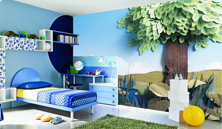 3D Cartoon tree 1177 Paper Wall Print Decal Wall Wall Murals AJ WALLPAPER GB