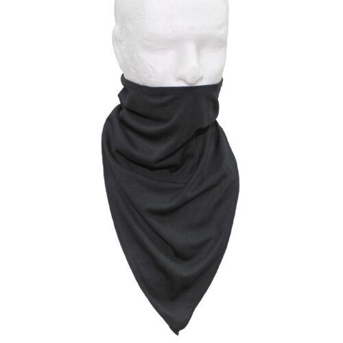 Schal schwarz Tactical Dreieck Dreiecksschal Windschutz für Hals und Gesicht