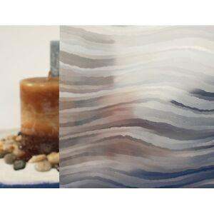 "Clear Sedimentary Static Cling Window Film, 36"" Wide x 10 ft"
