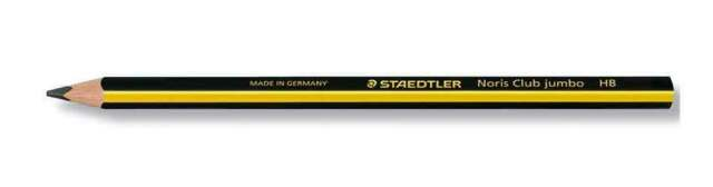 3 x Staedtler Noris Norris Jumbo Handwriting Pencils Hexagonal HB