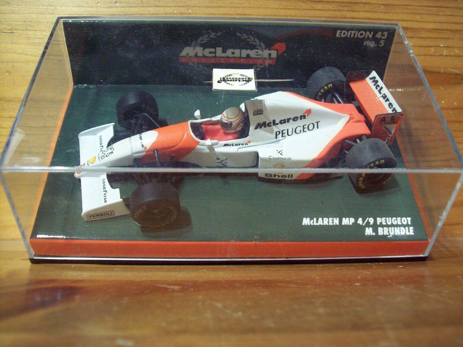 McLaren MP4 9 PEUGEOT 1994 MARTIN BRUNDLE