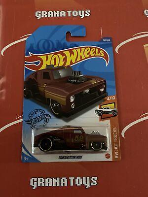 Erikenstein Rod #165 Red 4//10 Hot Trucks 2020 Hot Wheels Case P