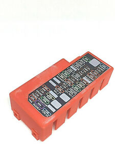 5th Gen 2010-19 Toyota 4Runner Red Fuse Box Cover with Side Slots