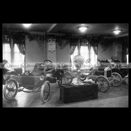 #pha.035113 Photo METZ CARS NEW YORK AUTOMOBILE MOTOR SHOW 1914