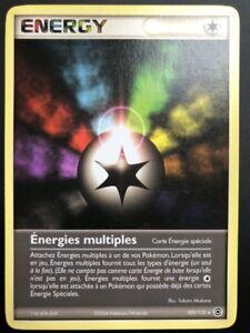 Carte-Pokemon-ENERGY-103-112-Rare-Rouge-Feu-Vert-Feuille-Bloc-EX-FR-NEUF