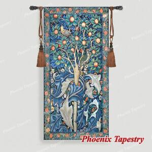 William Morris Woodpecker Fine Art Wall Tapestries Cotton 100 55