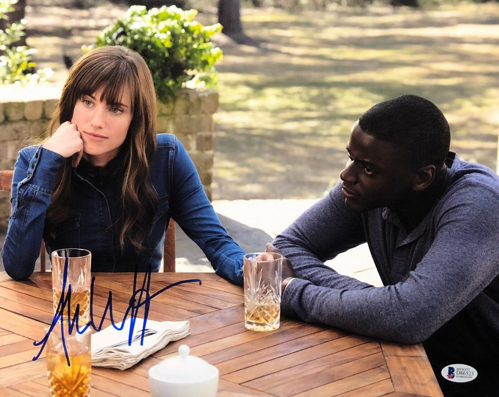 Allison Williams Signed 'Get Out' 11x14 Photo BAS Beckett D86523