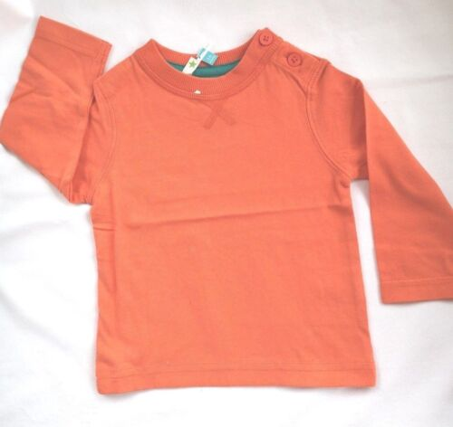 New Ex John Lewis Baby Boys Toddler Long Sleeve T-Shirt Age 0-3 Months 3 Years