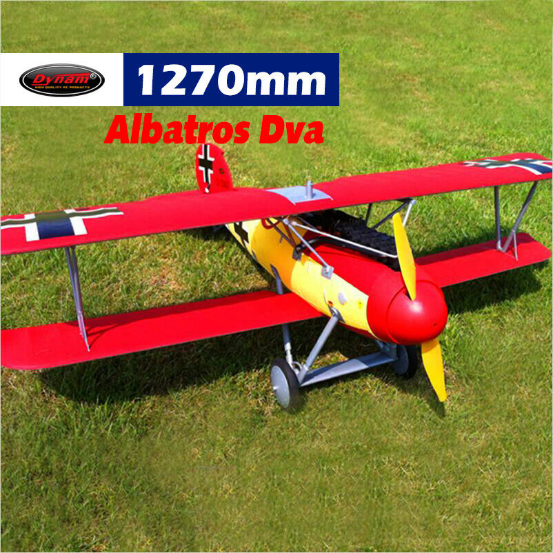 Dynam Albatros D.Va 1270mm Wingspan - SRTF