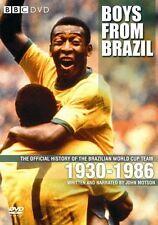 Boys From Brazil: World Cup Team 1930-1986 History [DVD] NEU Brasilien WM Pele