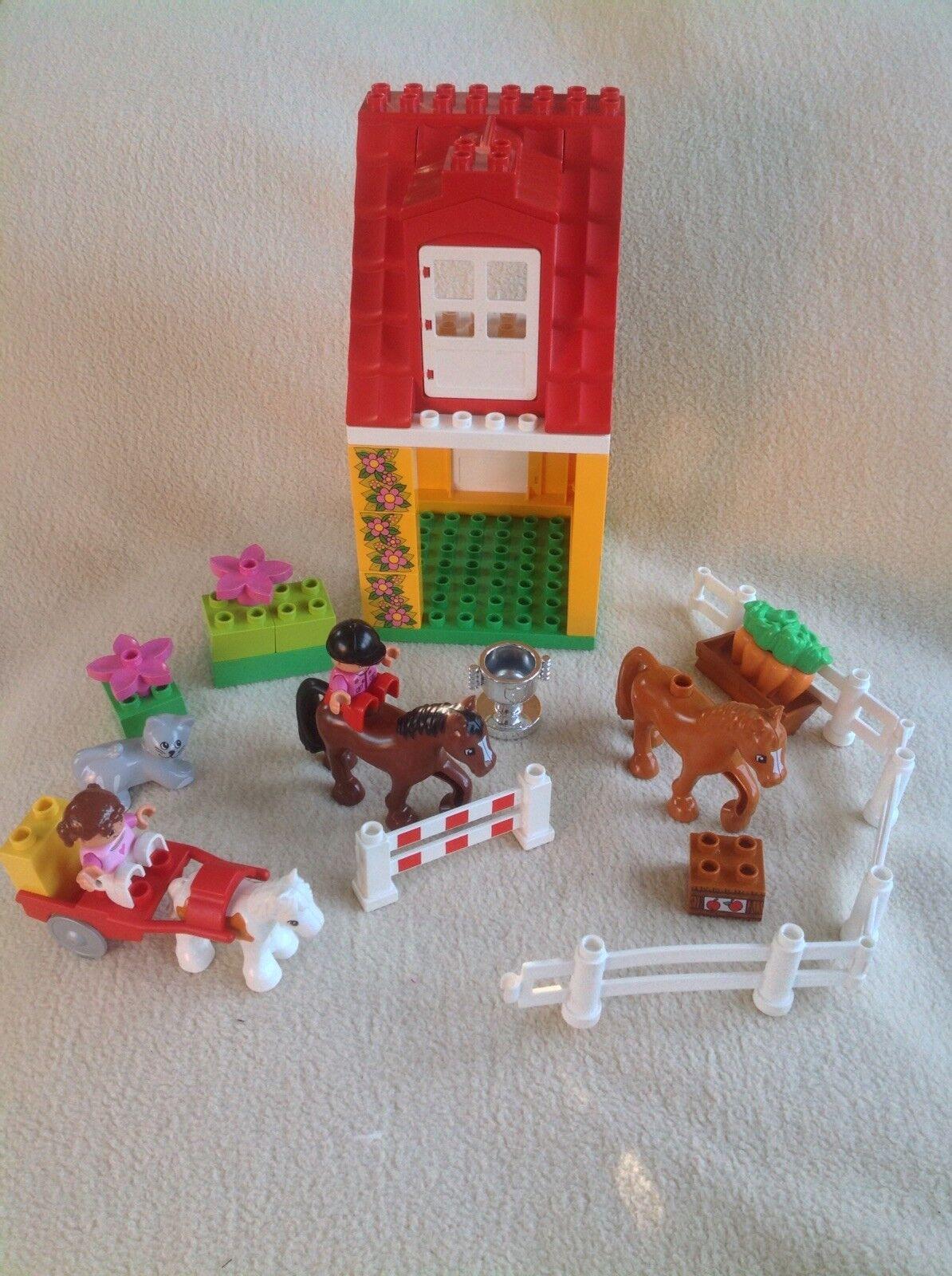 Lego Duplo Lego Ville Horse Pony Riding Stables Farm Set 4974