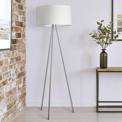 LED Stehleuchte Stehlampe Skandinavisch Design Dreibein Schirm Dove ST25 B-Ware*