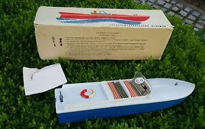 VINTAGE-BOAT-SHIP-TOY-LENINGRAD-BATTERY-OPERATED-METAL-PLASTIC-ORIGINAL-BOX