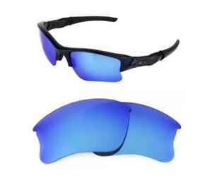 af0f60f6894 NEW POLARIZED CUSTOM ICE BLUE XLJ LENS FOR OAKLEY FLAK JACKET ...