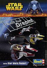 Prospekt Revell Star Wars 2005 Kit Republic Star Destroyer Obi Droid Tri-Fighter