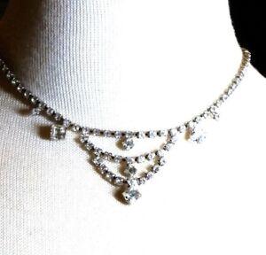 Beautiful-Rhinestone-Vintage-Necklace-Wedding-Prom