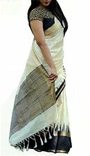 Latest Design Wear Saree in WHITE Coloured WEIGHTLESS GEORGETTE Just Rs : 599/-