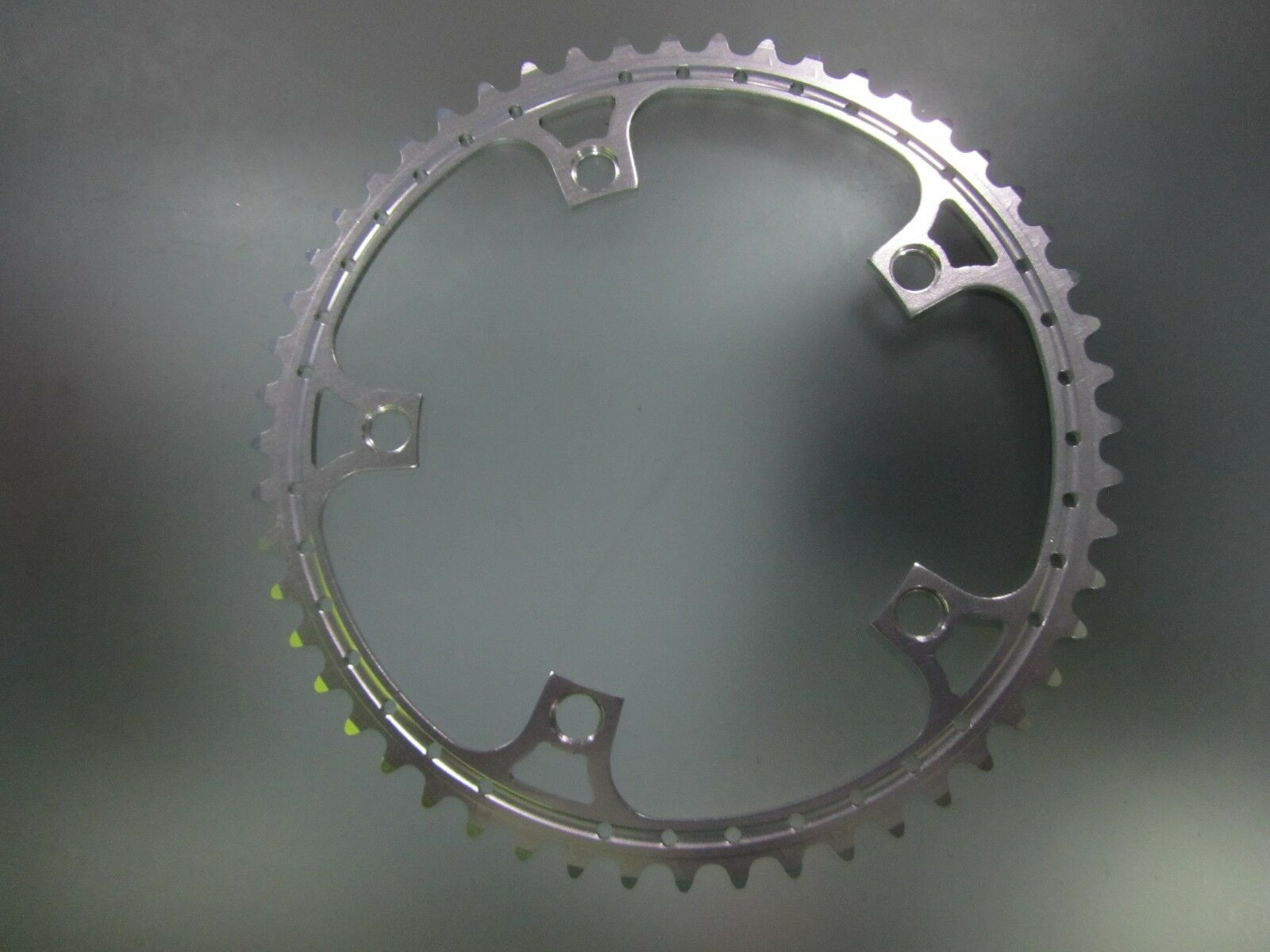 Vintage Rino alloy chainring, 52 tooth, 144mm BCD. Fits  Campagnolo. NOS  cheap online