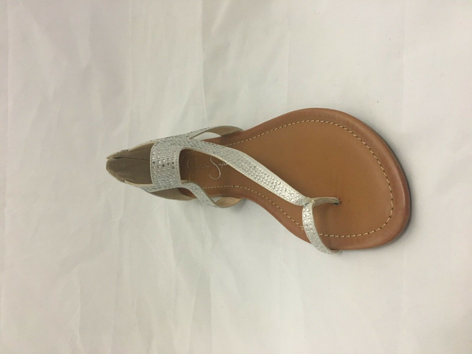 Jessica Simpson Kaarna Size 8M (Pale Silver)
