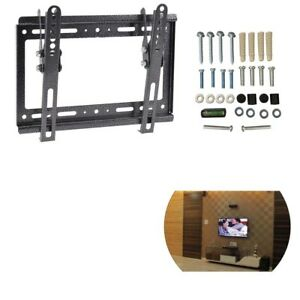 New-Tilt-Swivel-Plasma-QLED-LED-LCD-TV-Wall-Bracket-Mount-14-17-26-32-40-42-Inch