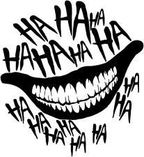 Joker Batman Haha Premium Vinyl Window Decal Car Sticker
