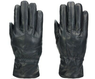 Stafford Genuine Leather Mens Gloves Touchtech Thinsulate Black JC Penny