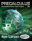 Precalculus: Real Mathematics, Real People by Ron Larson (Hardback, 2015)