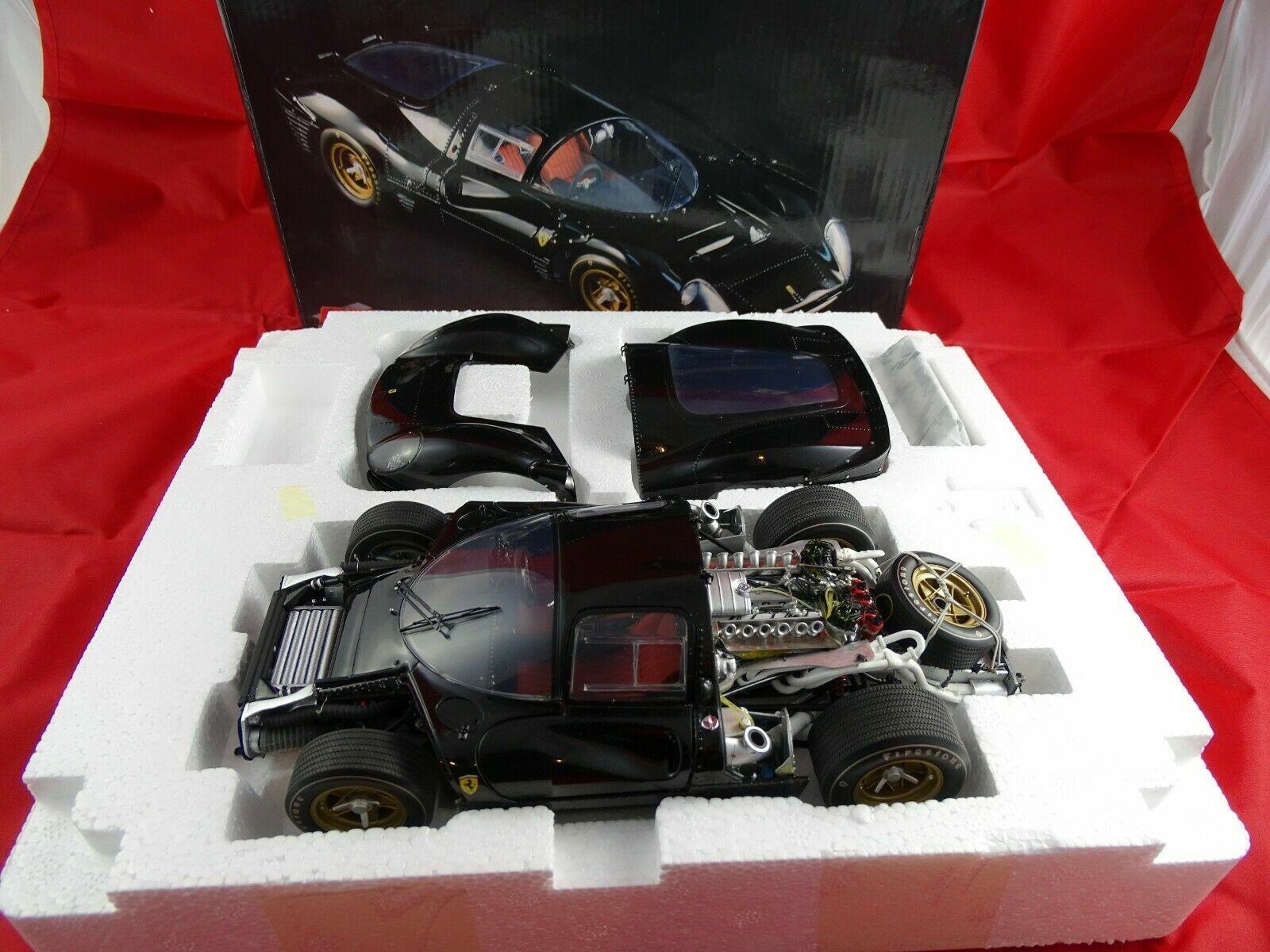1 18 GMP ferrari 330 p4 Projootype negro Limited Edition nuevo en el embalaje original