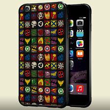 All Logo Superhero DC Comics For iPhone 6 6S Plus 5/5S 5C 4/4S  Hard Case tr1