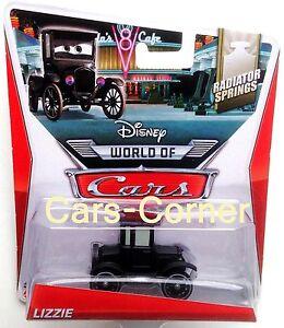 Disney-Pixar-Cars-Lizzie-die-alte-Dame-aus-Radiator-Springs-Mattel-NEU-amp-OVP