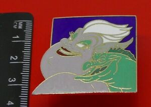 Used-Disney-Enamel-Pin-Badge-Ursula-Villan-Character-The-Little-Mermaid