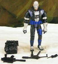 GI JOE no o-ring black Cobra Destro v7 arms dealer 2002 action figure complete