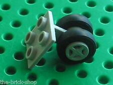 Roues pour avion LEGO Plane OldGray wheels ref 4860 / Set 6597 6375 4555 6392 ..