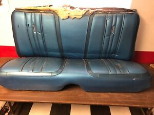 Enjoyable Details About 1969 1970 Plymouth Satellite Gtx Roadrunner Back Rear Seat Blue 319 Pdpeps Interior Chair Design Pdpepsorg