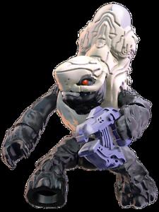 Sellado-Nuevo-Raro-Halo-Mega-Bloks-Foxtrot-Serie-Blanco-Covenant-Grunt-Figura